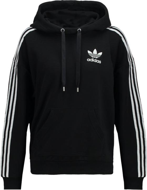 90e545c61e7c adidas originals bluza z kapturem black zalando czarny bluza