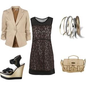Zestaw z  9 maj 2012, składający się m.in. z Torebka miejska Cubus, Buty H&M, Marynarka Topshop.