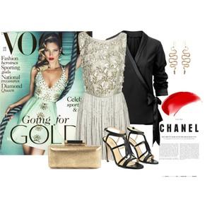 Zestaw z 24 maj 2012, składający się m.in. z Szpilki  Simple, Biżuteria Ileana Makri, Sukienka Asos.