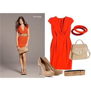Zestaw z 30 maj 2012, składający się m.in. z Pasek Orsay, Produkt do pielęgnacji, Sukienka Orsay.