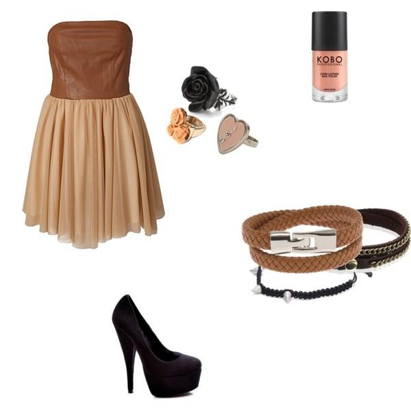 Zestaw z 24 lipiec 2012, składający się m.in. z Biżuteria Ileana Makri, Sukienka Mungolife For Nelly, Pierścionek Accessorize.