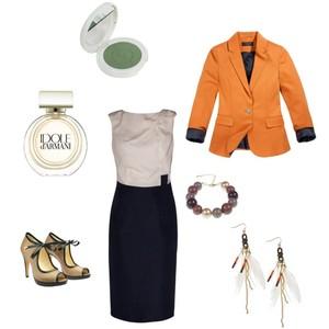 Zestaw z 27 lipiec 2012, składający się m.in. z Sukienka Monnari, Bransoletka Top Secret, Marynarka Reserved.