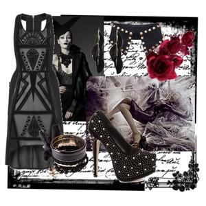 Zestaw z 26 październik 2012, składający się m.in. z NEW LOOK, Szalik Romwe, Sukienka Primark.