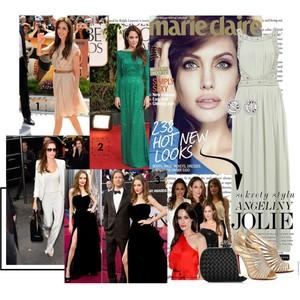 Zestaw z  8 styczeń 2013, składający się m.in. z Sukienka Topshop, Buty Christian Louboutin, Kopertówka Bottega Veneta.