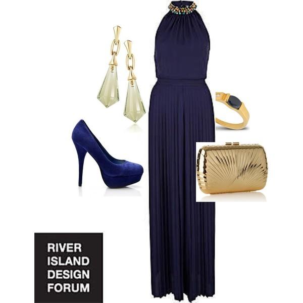 Zestaw z 13 styczeń 2013, składający się m.in. z Sukienka River Island, Pierścionek AK Biżuteria, Kolczyki  W.KRUK.