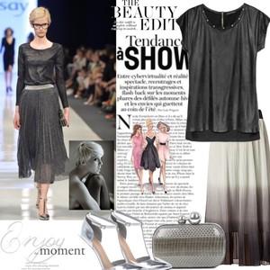 Zestaw z  6 maj 2013, składający się m.in. z Szpilki  Asos, Spódnica Vero Moda, Kopertówka Diane Von Furstenberg.