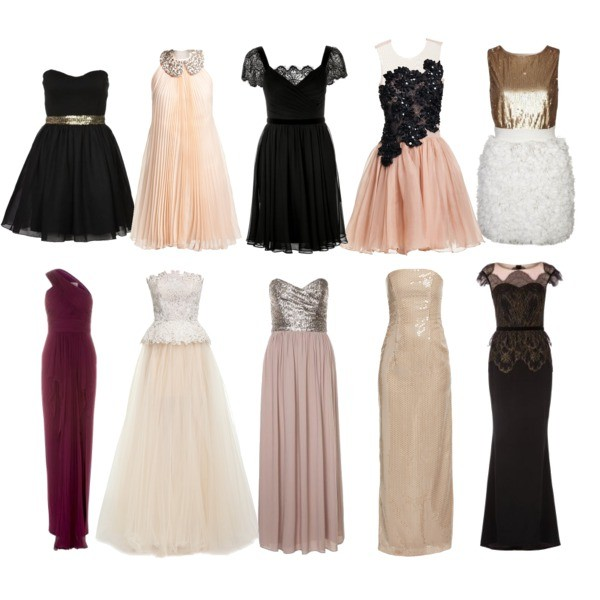 Zestaw z 18 grudzień 2013, składający się m.in. z Sukienka Teresa Rosati, Sukienka Marchesa Notte, Sukienka Marchesa Notte.