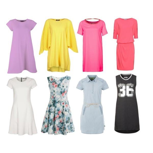 Zestaw z 25 marzec 2014, składający się m.in. z Sukienka TWINTIP, Sukienka List, Sukienka Lambear.