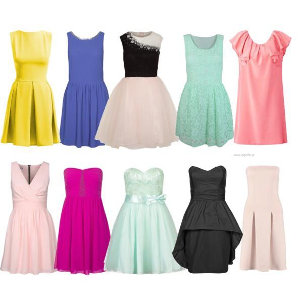 Zestaw z 21 maj 2014, składający się m.in. z Sukienka GAT RIMON, Sukienka Vero Moda, Sukienka Vila.