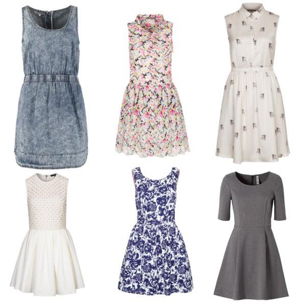 Zestaw z 24 maj 2014, składający się m.in. z Sukienka Tfnc, Sukienka bonprix, Sukienka Glamorous.