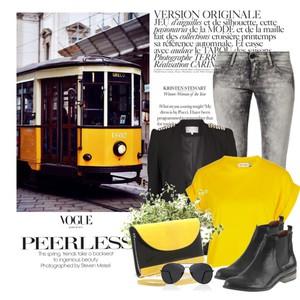 Zestaw z 22 wrzesień 2014, składający się m.in. z Botki Nessi, Okulary przeciwsłoneczne  DeeZee, Jeansy Calvin Klein Jeans.