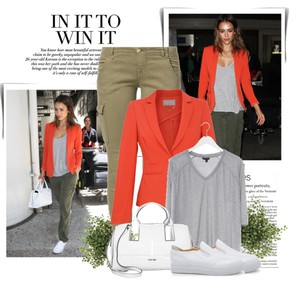 Zestaw z  4 marzec, składający się m.in. z Torba Calvin Klein Jeans, Spodnie Nolita, Trampki DeeZee.