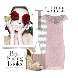 Zestaw z 30 kwiecień, składający się m.in. z Sukienka Esprit Collection, Torebka Wittchen, Sandały Born2be.