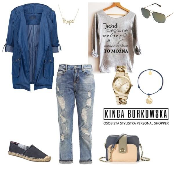 Zestaw z 30 kwiecień 2016, składający się m.in. z Bransoletka Caviallo, Torebka MADEMOISELLE R, Bluzka Time For Fashion.