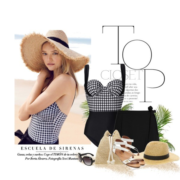 modna stylizacja plażowa