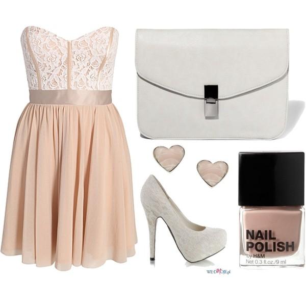 Zestaw z 21 sierpień 2012, składający się m.in. z Produkt do pielęgnacji H&M, Kolczyki  Accessorize, Sukienka Elise Ryan.