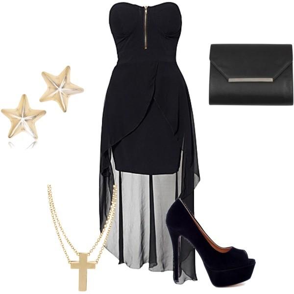 Zestaw z 16 wrzesień 2012, składający się m.in. z Sukienka Ax Paris, Czółenka  Merg.