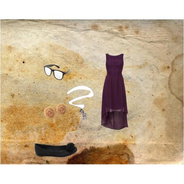 Zestaw z 15 grudzień 2012, składający się m.in. z Naszyjnik Troll, Sukienka NEW LOOK.