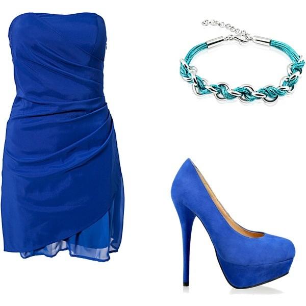 Zestaw z 25 grudzień 2012, składający się m.in. z Sukienka Vila, Bransoletka Modern Silver.