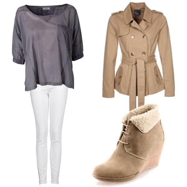 Zestaw z 26 grudzień 2012, składający się m.in. z Bluza Hunky Dory, Buty Prima Moda, Płaszcz Even&Odd.
