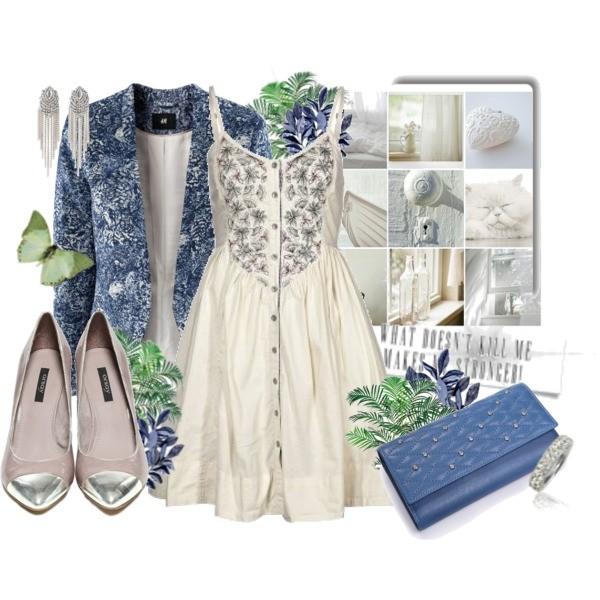 Zestaw z  3 kwiecień 2013, składający się m.in. z Pierścionek Modern Silver, Portfel Nucelle, Sukienka Hilfiger Denim.