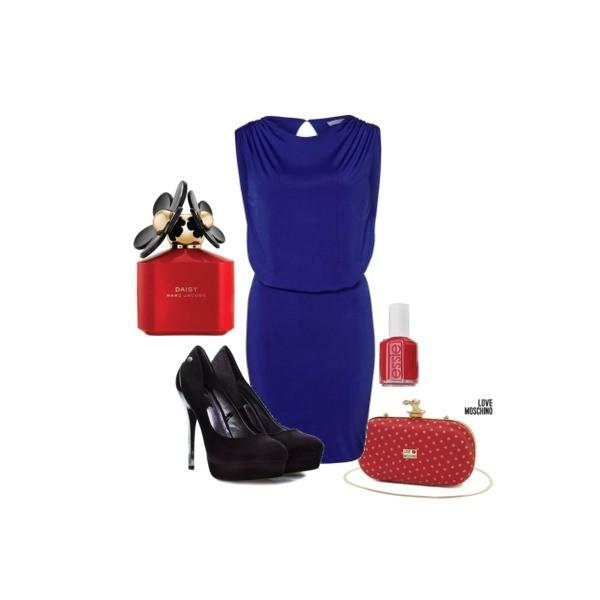 Zestaw z 29 grudzień 2013, składający się m.in. z Perfumy Marc Jacobs, Lakier do paznokci ESSIE, Sukienka GAT RIMON.