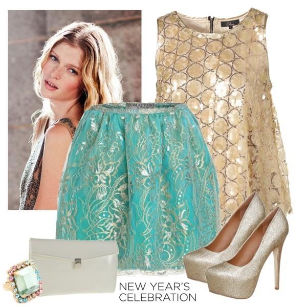 Zestaw z 30 grudzień 2013, składający się m.in. z Biżuteria Marc by Marc Jacobs, Bluzka Topshop, Czółenka  Steve Madden.