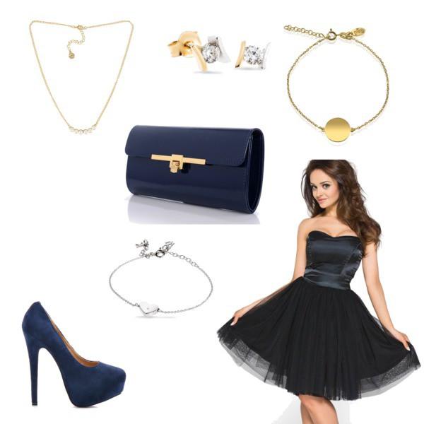 Zestaw z 30 grudzień 2014, składający się m.in. z Bransoletka W.KRUK, Bransoletka Modern Silver, Sukienka Kartes-moda.