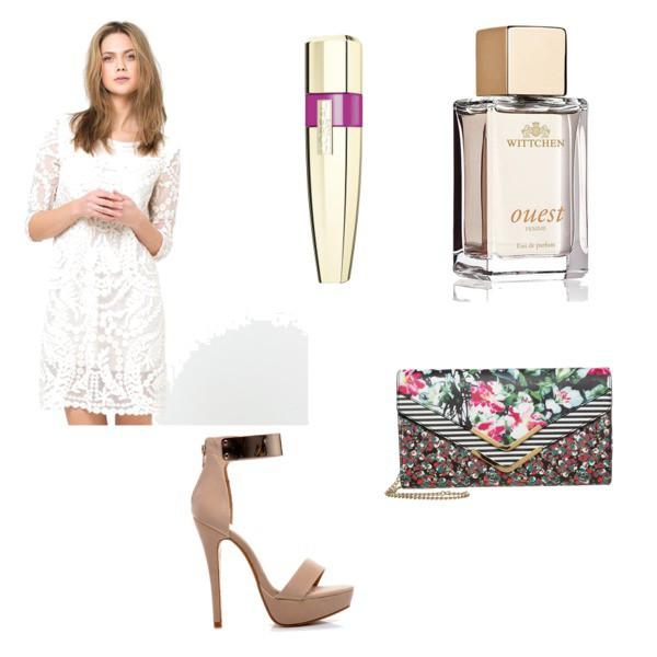 Zestaw z 25 maj 2015, składający się m.in. z Perfumy Wittchen, Sukienka SOFT GREY, Torebka Aldo.