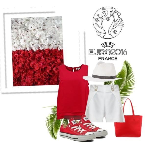 Zestaw z 30 czerwiec 2016, składający się m.in. z Czapka Opus, Bluzka Zalando Essentials Curvy, Torebka Even&Odd.