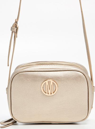 5d8f03c5ce9e8 Mohito - Mała torebka na długim pasku - Złoty
