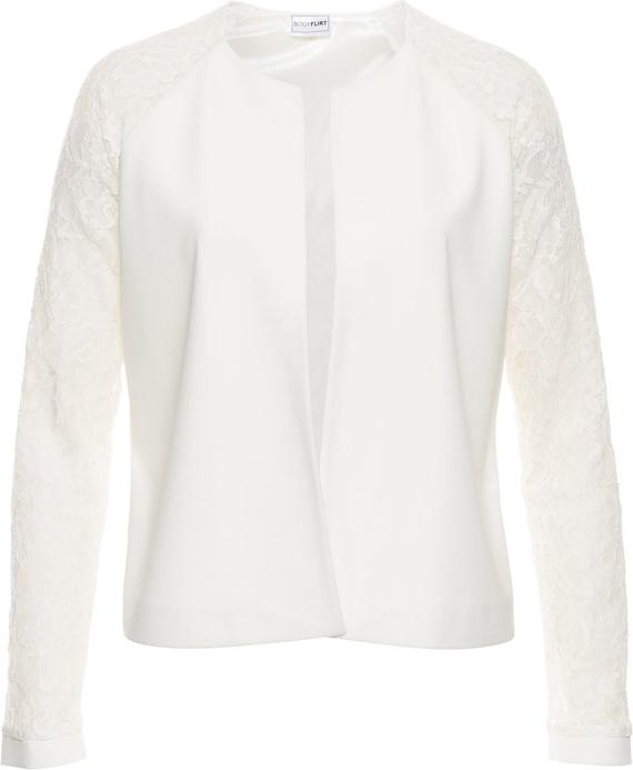 najlepszy Wdzianko z koronkowymi rękawami Odzież Damskie Swetry i bluzy damskie BY OKUTBY-7