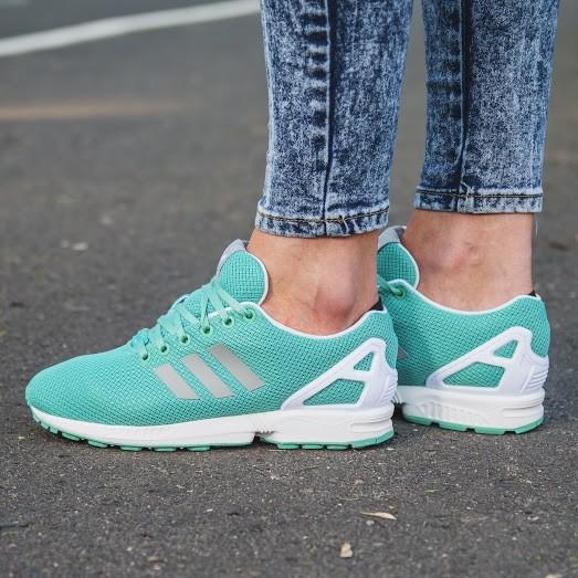adidas zx flux damskie miętowe