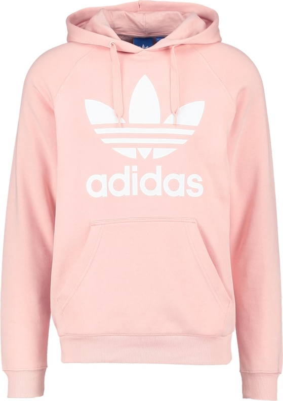 adidas originals trefoil bluza z kapturem pink. Black Bedroom Furniture Sets. Home Design Ideas