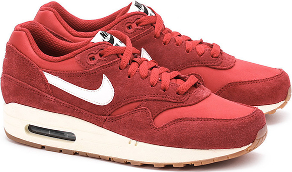 air max 1 essential czerwone