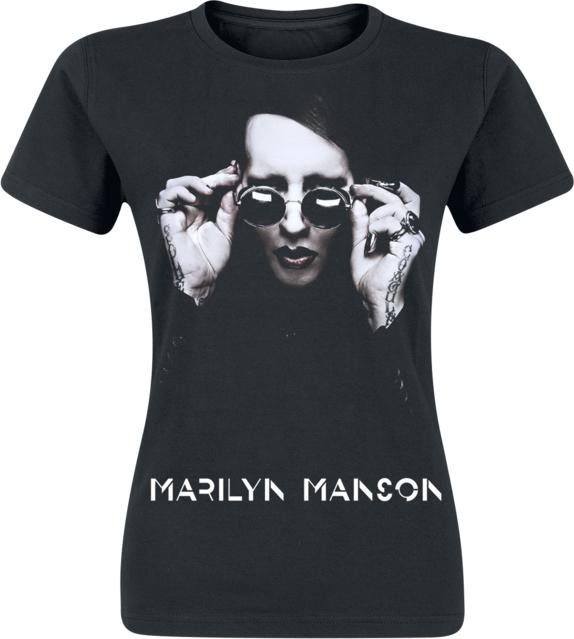 30% OBNIŻONE Marilyn Manson - Specks - T-Shirt - czarny Odzież Damskie Topy i koszulki damskie HO KRIFHO-2
