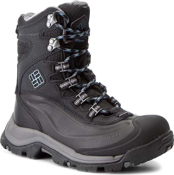 w ofercie Śniegowce COLUMBIA - Bugaboot Plus III Omni-Heat BL1620 Black/Dark Mirage 010 Buty Damskie Buty trekkingowe XO CBNMXO-7