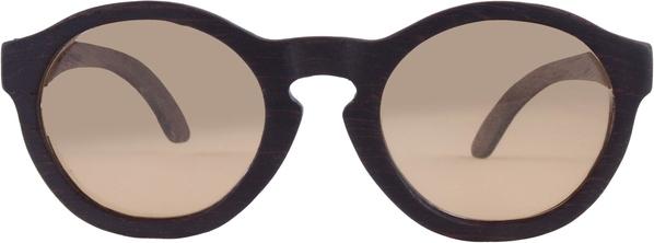 Drewniane okulary Seria Retro