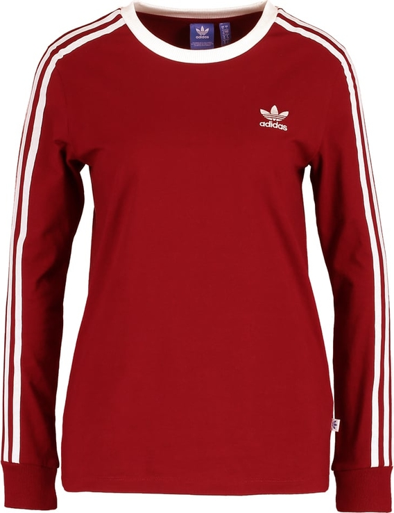 adidas Originals Bluzka z długim rękawem bordeaux 6389b15408