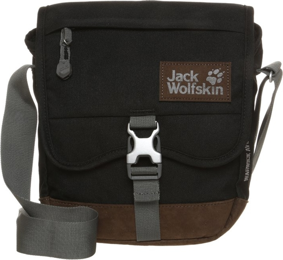 35da38ac1f76e Jack Wolfskin WARWICK AVE Torba na ramię black