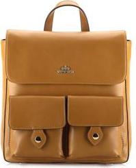 27c420fd53ea5 Wittchen Elegance damski plecak skórzany jasny brąz