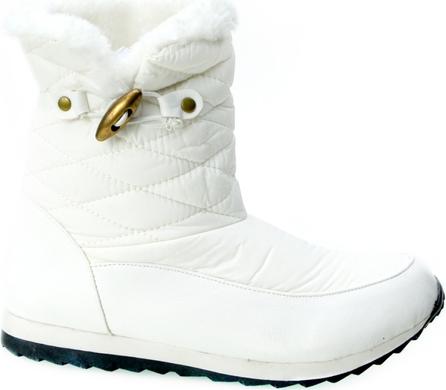 77532787 Buty zimowe damskie śniegowce białe Smiths