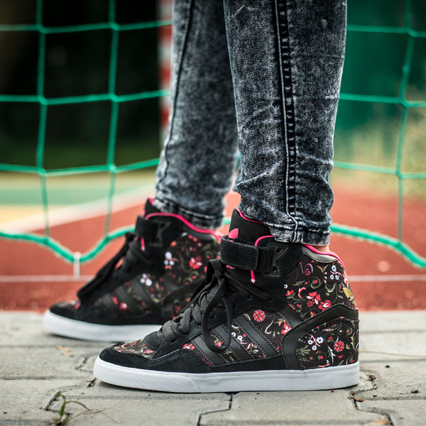 358ba5b18697 BUTY DAMSKIE SNEAKERSY KOTURNY ADIDAS ORIGINALS EXTABALL UP  quot FLOWER  PACK quot  B35358