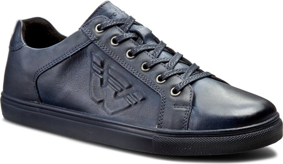 996301668d82f Sneakersy WOJAS - 6016-56 Granatowy