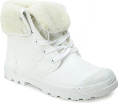 d60b095c Buty zimowe damskie wywijane białe Smiths