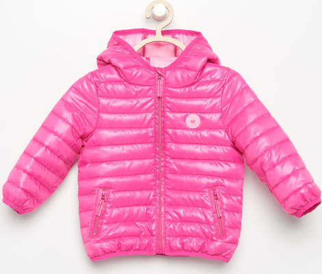 7880b53a75b50 Reserved - Pikowana kurtka - Różowy