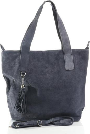 6a1f87338d5df Olivia – włoska zamszowa torba typu shopper bag