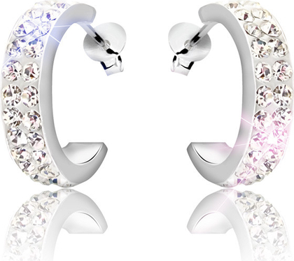 Kolczyki  Modern Silver