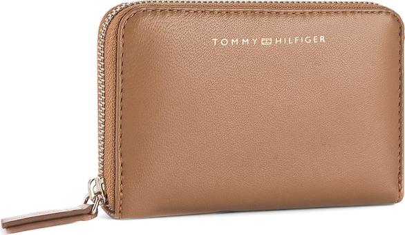 36c9caf969fda Duży Portfel Damski TOMMY HILFIGER - Smooth Leather Sm Za Wallet AW0AW04355  279