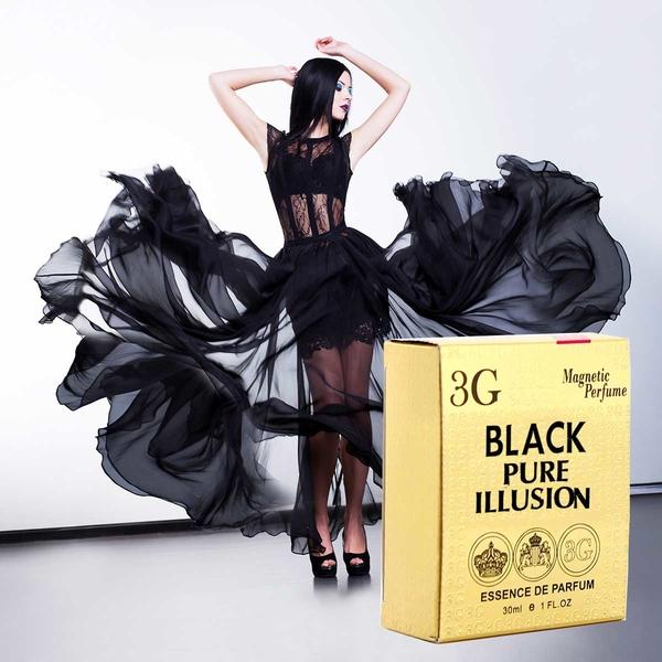 3G Magnetic Perfume Esencja Perfum odp. Black Opium Pure Illusion YSL /30ml